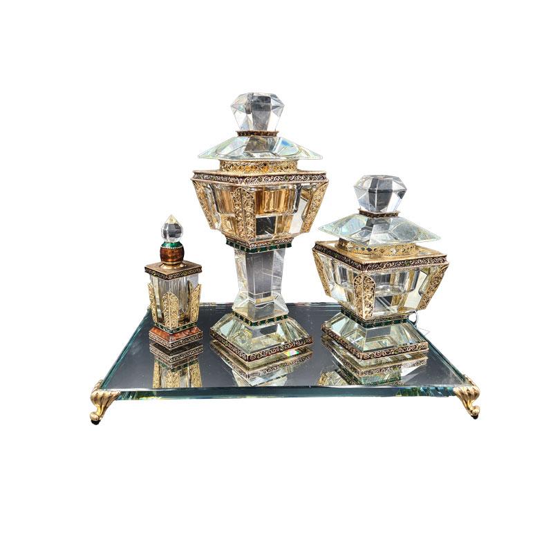 Set Bukhour cristal (DUBAI)