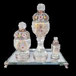 Set Boukhour cristal (MALAISYA)