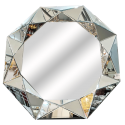 Miroir-angular – Argentée
