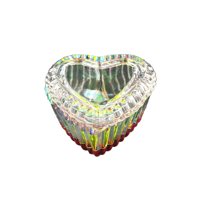 Pot en cristal Coeur