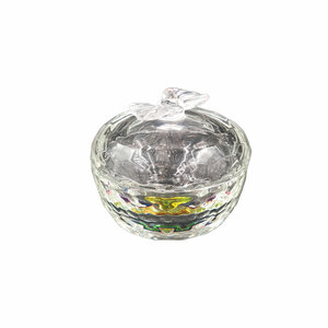 Ce Pot en cristal ànœud