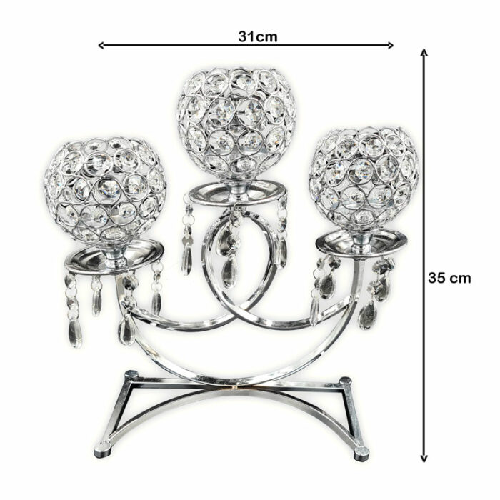 Chandelier small 3 bougies